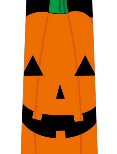かぼちゃドアップネクタイの写真