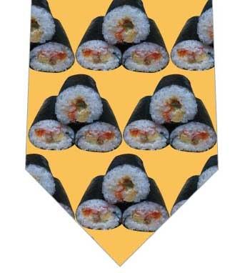 リアル恵方巻きネクタイ(オレンジ)ネクタイの写真