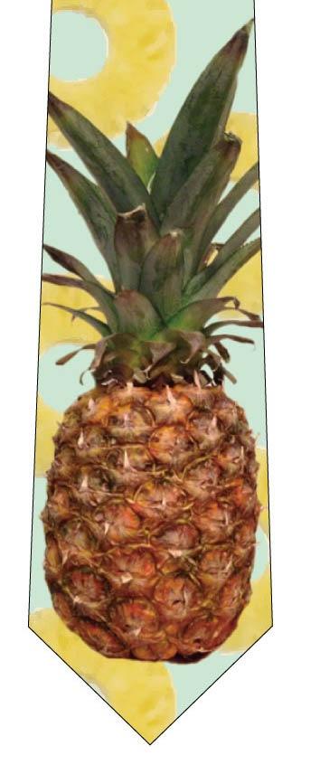 リアルパイナップルネクタイ(黄緑)の写真