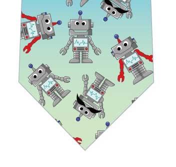 ロボットネクタイの写真