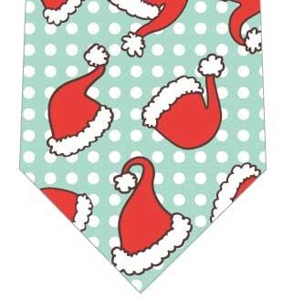 サンタ帽ごろごろネクタイの写真