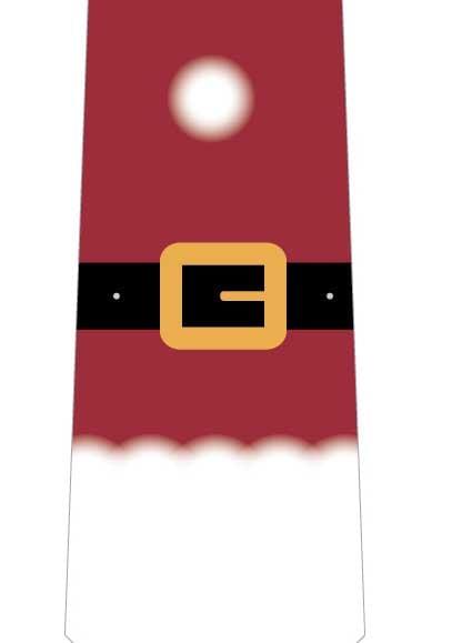 サンタスーツネクタイの写真