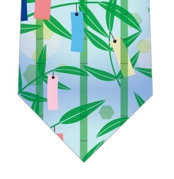 笹飾りネクタイの写真