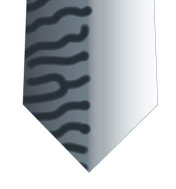 サバ模様柄ネクタイの写真