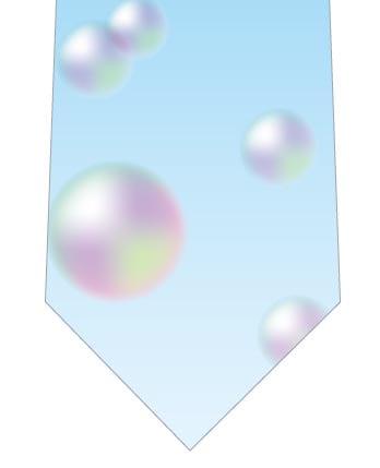 シャボン玉ネクタイの写真