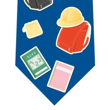 新学期準備ネクタイ(青)の写真