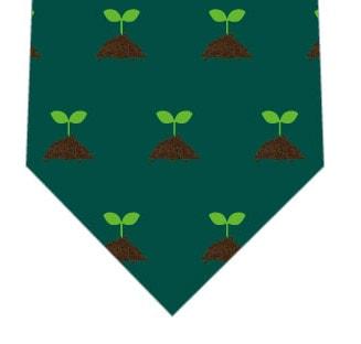 新芽ネクタイ(緑)の写真