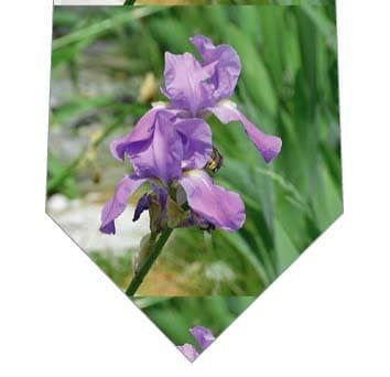 菖蒲の花ネクタイの写真