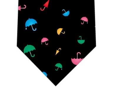 小さな傘ネクタイ(黒)の写真