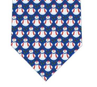 スノーマンぎっしりネクタイネクタイの写真
