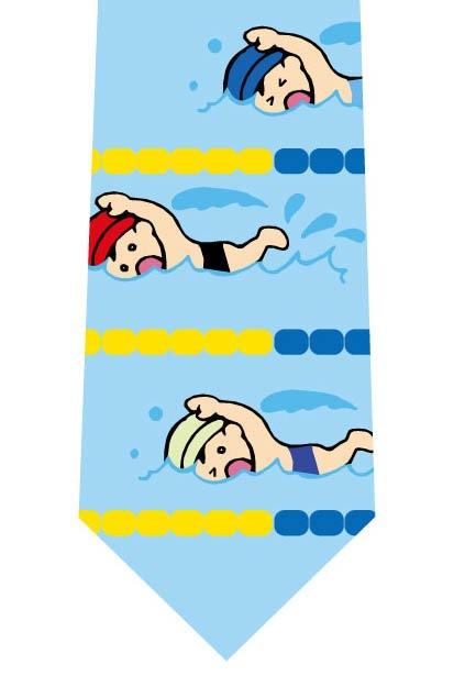 水泳ネクタイの写真