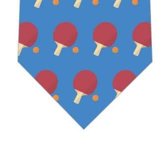 卓球ネクタイ(青)の写真