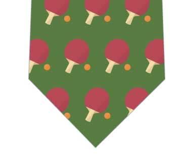 卓球ネクタイ(緑)の写真