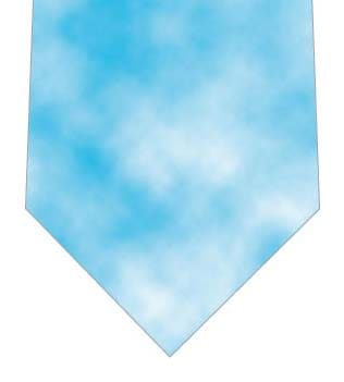 水色タイダイ柄ネクタイネクタイの写真