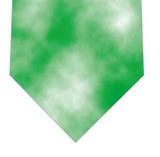 緑タイダイ柄ネクタイネクタイの写真