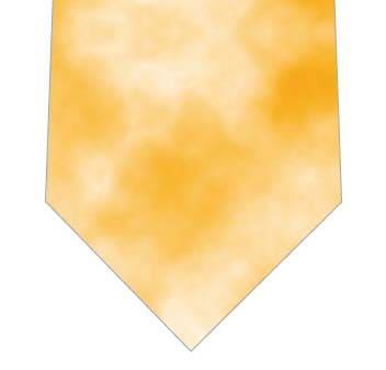 オレンジタイダイ柄ネクタイネクタイの写真