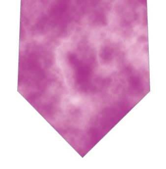 ピンクタイダイ柄ネクタイネクタイの写真