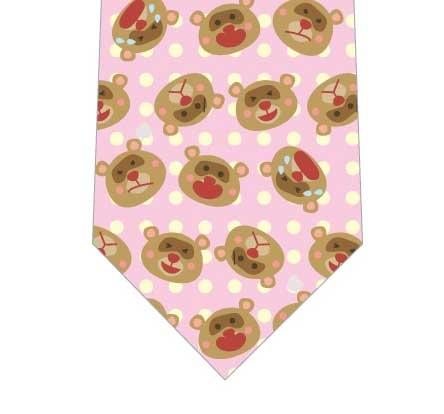タヌキの喜怒哀楽ネクタイの写真