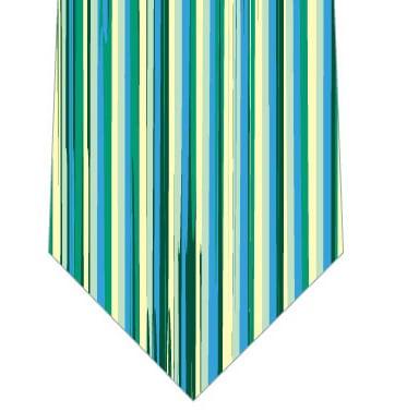 縦ストライプ(緑系)の写真