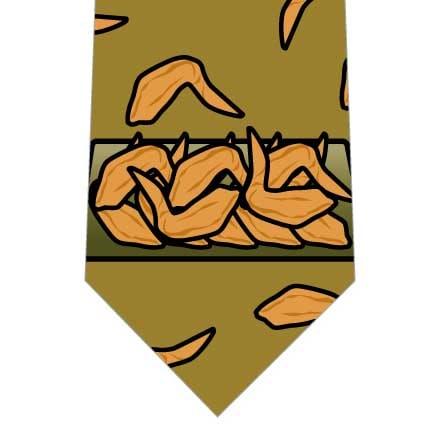 手羽先ネクタイ(黄土色)の写真