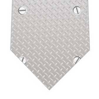 鉄板風ネクタイの写真