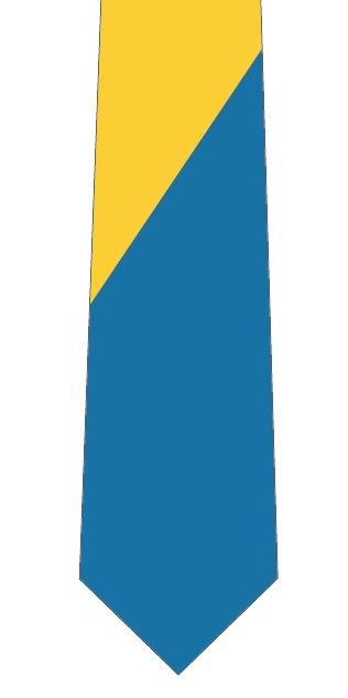 東大風カラーネクタイの写真