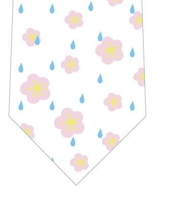 梅雨ネクタイの写真