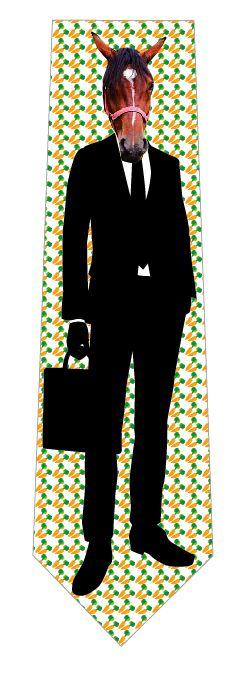馬リーマンネクタイの写真