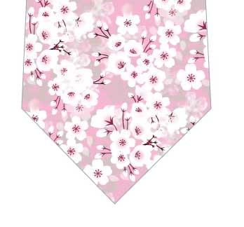 梅満開ネクタイ(ピンク)の写真