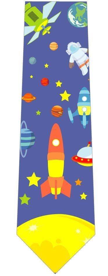宇宙を探検ネクタイの写真