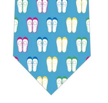 上履きネクタイ(水色)の写真