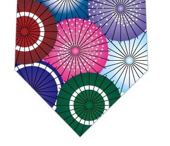 和傘ネクタイの写真