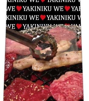 WE LOVE YAKINIKUネクタイの写真