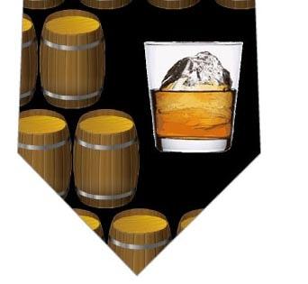 ウイスキーネクタイ(黒)の写真