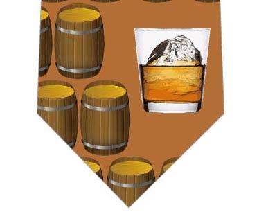 ウイスキーネクタイ(茶色)の写真