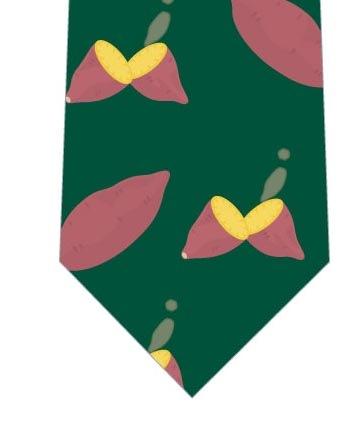 焼き芋ネクタイ(緑)の写真