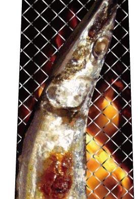 焼サンマネクタイの写真