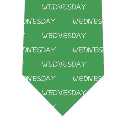曜日イメージカラーネクタイの写真