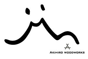 Akihiro Woodworksロゴ