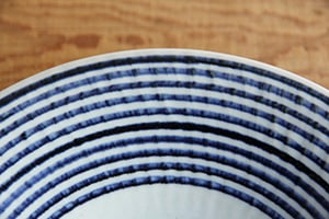 藍駒 小皿・中皿 (BAR BAR)