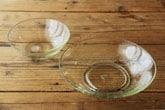くるみガラス 鉢 (ガラス工房 橙)
