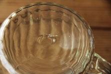 くるみガラス ジャグ (ガラス工房 橙)