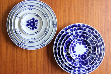 ブルーム プレート (白山陶器)サブPH2