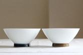 麻の糸 飯わん (白山陶器)