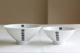 かのん 飯碗 (白山陶器)