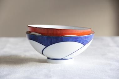 ねじり梅 飯わん (白山陶器)サブPH1