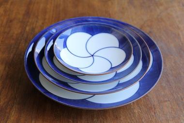 ねじり梅 和皿 (白山陶器)サブPH2