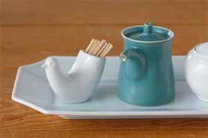 とり型ようじ立て TOTTO (白山陶器)
