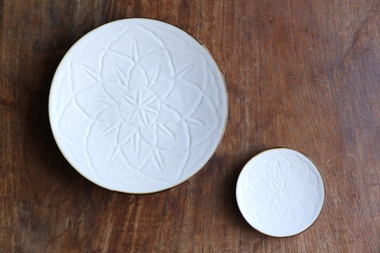 麻の糸 プレート (白山陶器)サブPH1