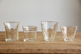 石川昌浩さんのガラスコップ(倉敷意匠)